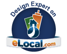 eLocal Design Expert Badge